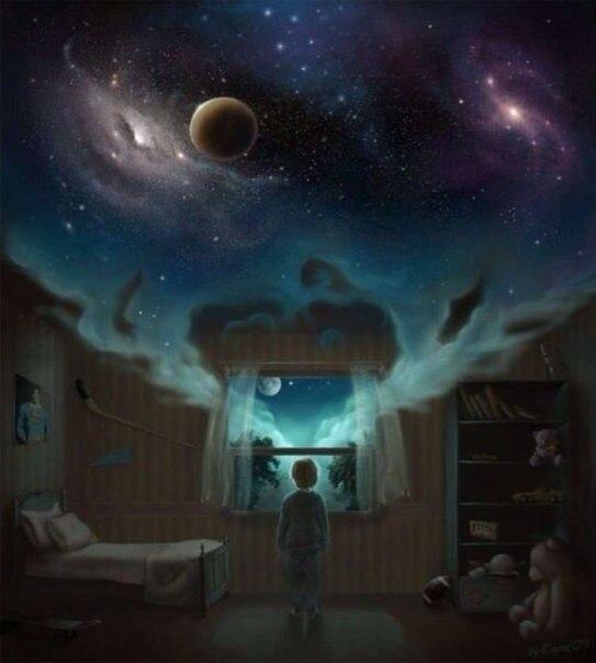 Член сознание космос мозг паранойя