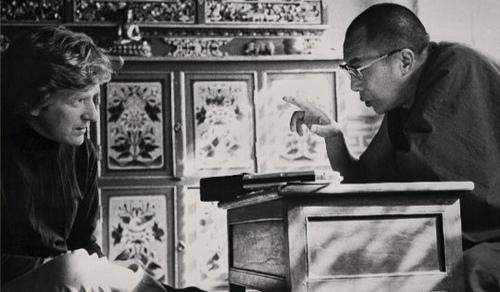 Роберт Турман, коллега Дэна Брауна, и Далай-лама